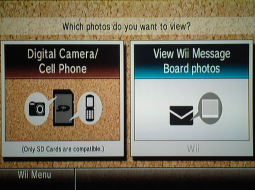 Wii Photo Channel