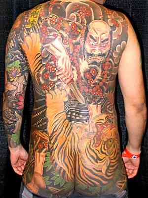 TATTOO WAS DONE BY HORIRICO OF DARUMAGOYA TATTOO OF JAPAN OUT OF NEW YORKS