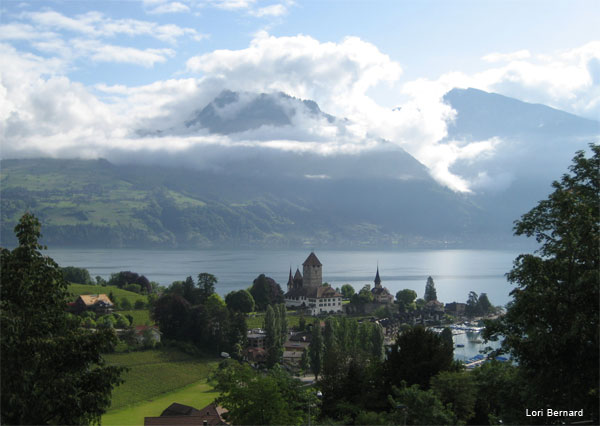 Spiez, Switzerland by Lori Bernard