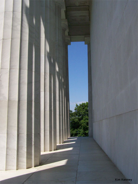 Lincoln Memorial by Kim Kenney