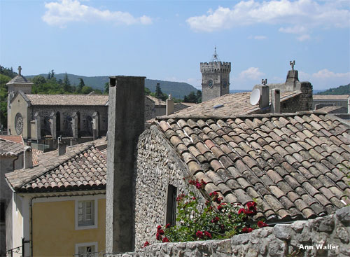 Rooftops in France by Ann Waller