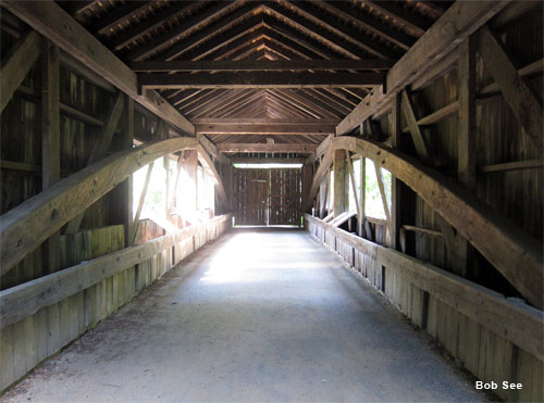Covered Bridge by Bob See