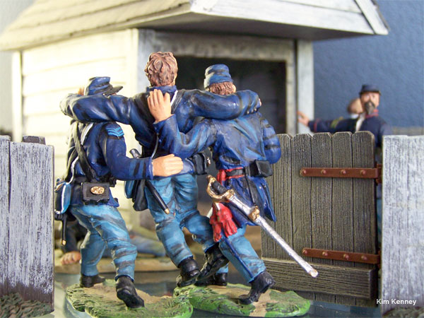Miniature Civil War Soldiers by Kim Kenney