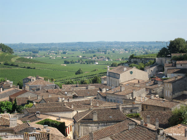 St. Emilion, Bordeaux by Lisa Shea