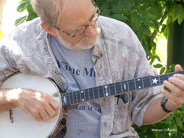 Banjo Lesson by Michael Coughlin