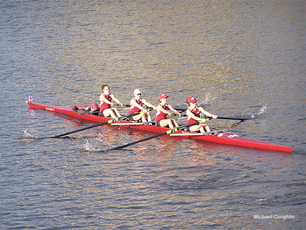 Head of the Charles, Women´s Four by Michael Coughlin