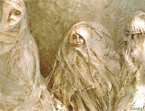Three Women by Christine Kesara Dennett