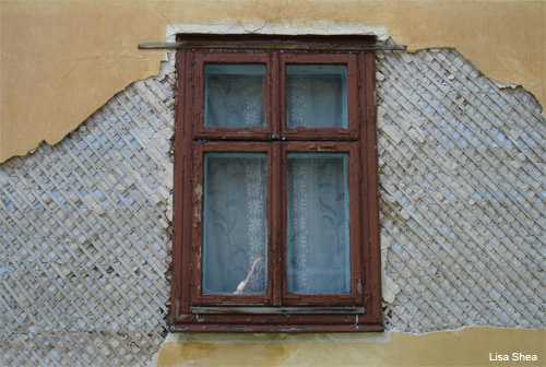 Lviv, Ukraine Rural Window by Lisa Shea