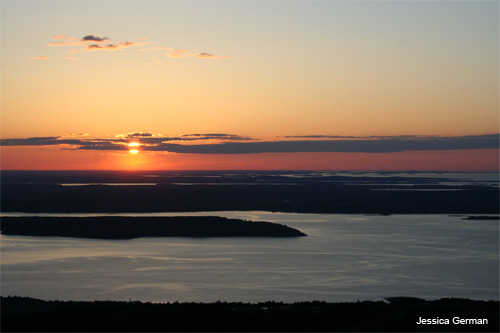 Cadillac Mountain Sunrise by Jessica German