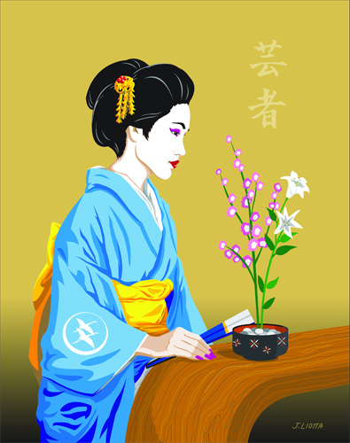 Geisha by Joe Liotta
