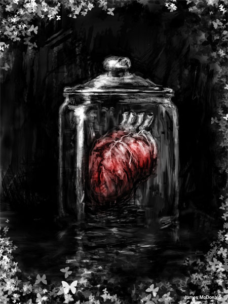 Heart in a Jar by James McDonald