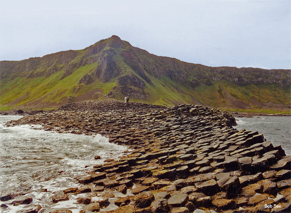 Giant´s Causeway, Northern Ireland by Bob See
