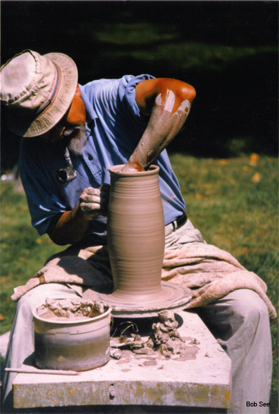 Japanese Potter by Bob See