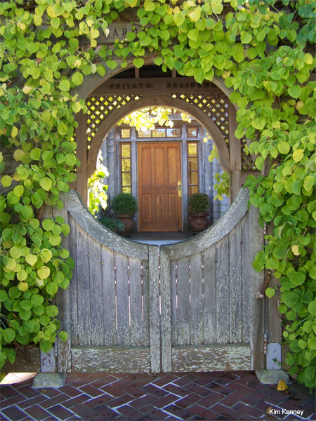 Fairy Door by Kim Kenney