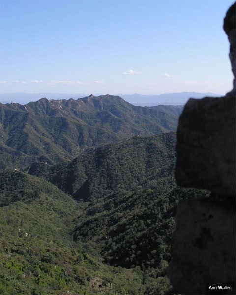 Great Wall View by Ann Waller