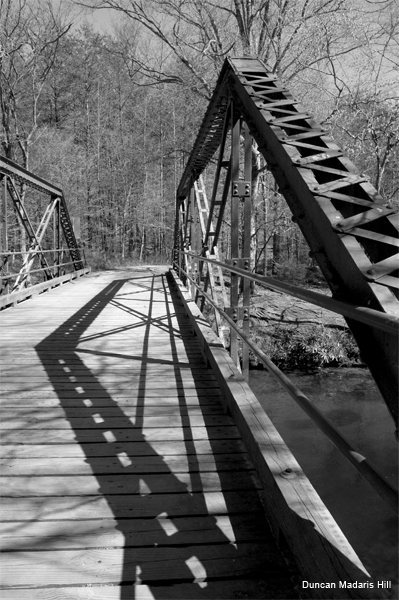 Bridge Shadow by Duncan Madaris Hill