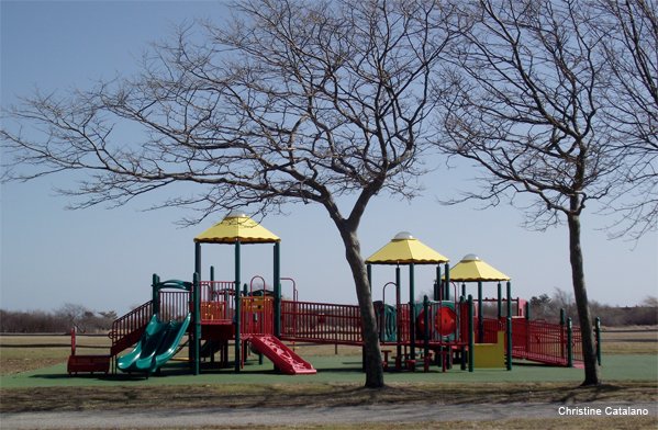 Playground Waits Its Season by Christine Catalano