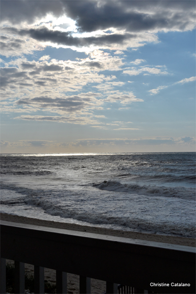 Montauk Morning by Christine Catalano