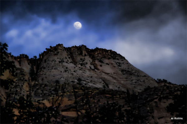 Zion by Moon Light by Al Rollins