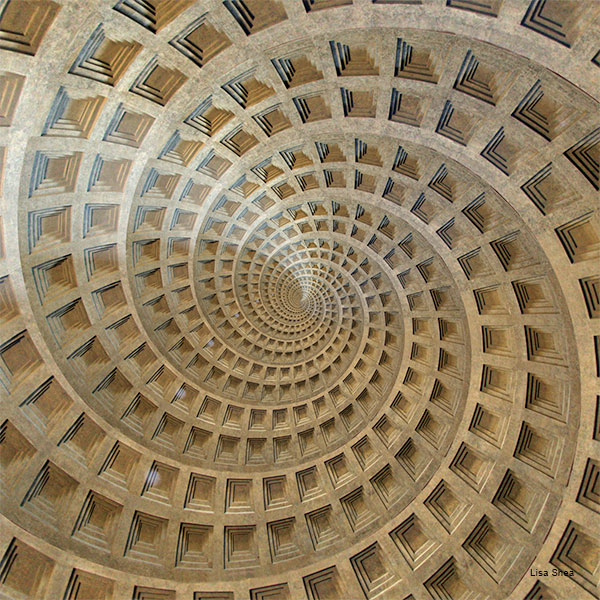 Pantheon, Rome by Lisa Shea