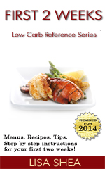 First 2 Weeks - Low Carb Reference Book