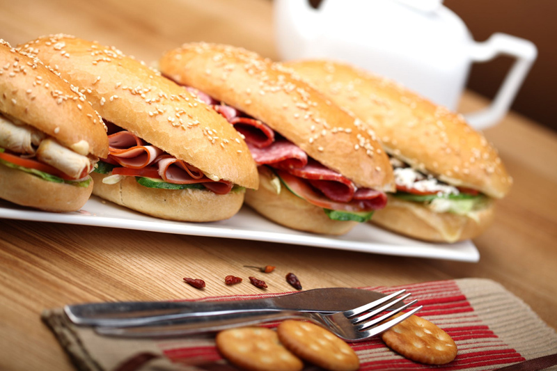 Four Weeks of Deli Meat Sandwich Ideas