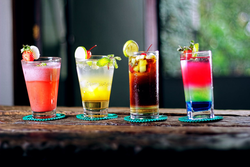 Drink Recipes - Lioness, Tiger's Tail, Polar Bear