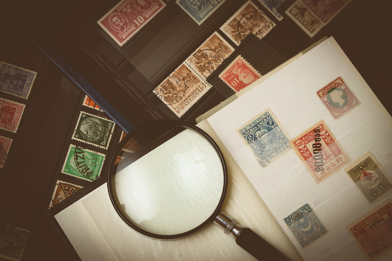 Taking Care of Stamps Using an Album