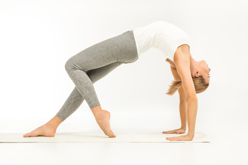 Trikonasana, or Triangle Pose