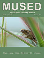 Mused BellaOnline Literary Review Front Cover