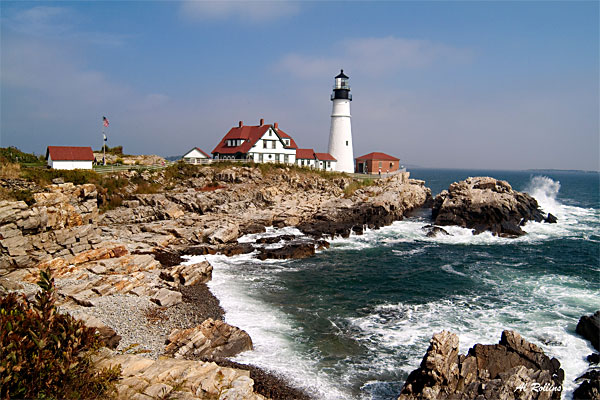 Portland Head Light by Albert Rollins
