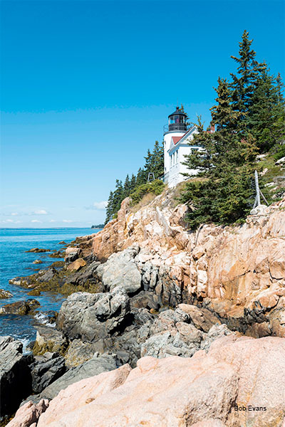 Bass Harbor Head Lighthouse by Bob Evans