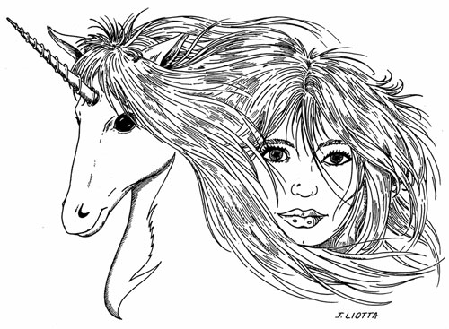 The Lady and the Unicorn by Joe Liotta