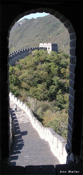 Great Wall of China by Ann Waller