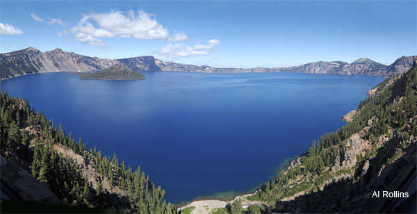 Crater Lake by Al Rollins