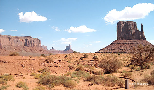 Landscape - Monument Valley, Utah by Andrew R. Sciandra