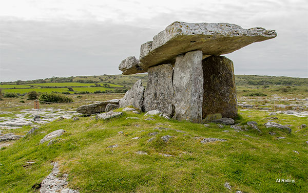 5000 Year Old Portal Tomb by Al Rollins